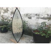 Polysulfide Decorative Panel Glass Insulated / Bevelled / Polished