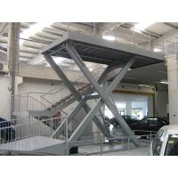 Buy cheap Mobile Scissor Lift Platform/Hydraulic Scissor Lift Table to Lifting Cars from wholesalers