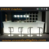 Buy cheap Corner Led Bar Counter With Led Lights And Rechargeable Battery from wholesalers