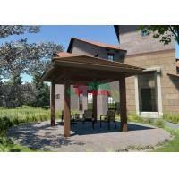 Buy cheap Rotproof  Square Gazebo Kits Color Stability , Small Garden Gazebo No Cracking from wholesalers
