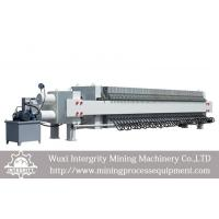 Buy cheap Coal Dewatering Recessed Filter Press For Tailings PLC Control from wholesalers