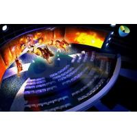 Buy cheap Customized High Definition 5D Cinema Equipment With Curved Screen product