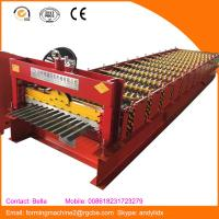 Buy cheap fully automatic metal roof roll forming machines best in China from wholesalers