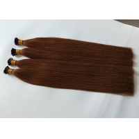 Buy cheap Top quality remy human hair pre-bonded hair extensions I tip hair extensions from wholesalers
