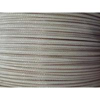 Buy cheap Bare Copper Wire Braiding Leaky Feeder Cable For Perimeter Detection from wholesalers