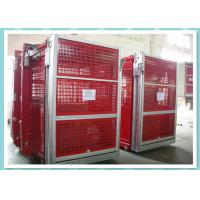 Buy cheap Industrial Elevator Passenger Hoist Safety Construction Material Lifts from wholesalers