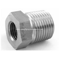 Buy cheap Stainless Steel NPT Thread Forged Tube Fittings 1/2 Male NPT Metric Reducing Bushing from wholesalers