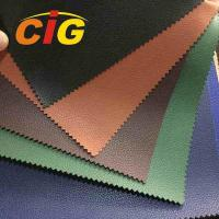 Buy cheap Non - Woven / Knitting Backing PU Synthetic Leather For Book Cover , 140cm Width 1.0mm Thickness product