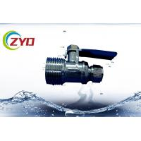 Buy cheap NPT Thread Gas Ball Valve , Small Mini Full Port Brass Ball Valve For Air from wholesalers