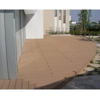 Buy cheap Custome WPC Outdoor Furniture , Waterproof Wood Plastic Walking Platform from wholesalers