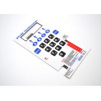 Buy cheap Flat Membrane Switch With Touch Dots On Graphic Overlay For Timer / Photo Controller from wholesalers