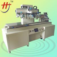 Buy cheap CE Approved Large Format Run-table Car Glass Semi-Automatic Screen Printer with Unloading Mechanical Arm from wholesalers