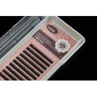 Lower Silk Eyelash Individual Extensions J Curl Eyelashes 0.10mm Thickness