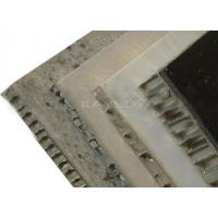 Buy cheap Square Aluminium Honeycomb Stone Panels high rigidity , soundproof from wholesalers