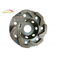 Buy cheap L Shape Segments Granite Grinding Wheel Wet And Dry With Lightweight Steel Core from wholesalers