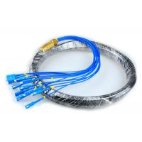 Buy cheap CATV Network Optical Fiber Pigtail 12 Core Fiber Outdoor SC Pigtail Waterproof from wholesalers