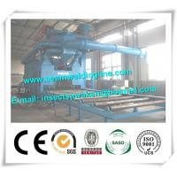 Buy cheap External And Outer Steel Plate Painting / Shot Blasting Machine Customized from wholesalers