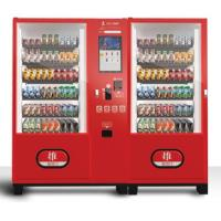 Buy cheap Commercial Combo Vending Machine , Steel Trays High Tech Vending Machines from wholesalers