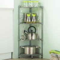Buy cheap H306 Carbon Steel Bathroom Stand Alone Shelves With Adjustable Leveling Feet from wholesalers