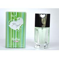 Buy cheap 2047# Green Color My Heart Perfume , Male Spicy Woody Perfumes 10Ml from wholesalers