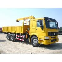 Buy cheap HOWO Cargo Truck With Loading Crane(Front-Mounted) from wholesalers