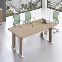Buy cheap Luxury Solid Wood Veneer Office Conference Table Scratch Resistant from wholesalers
