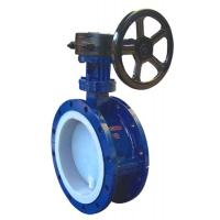 Buy cheap Flange Fluorine-butterfly valve from wholesalers