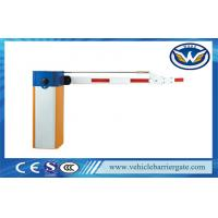Buy cheap Single Bar Manual Release Electric Barrier Gate With 180 Degree Folding Arm from wholesalers