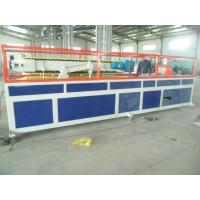 Buy cheap PP / PE Deck Plastic Profile Extrusion Line , WPC Tray Profile Extrusion Machinery from wholesalers