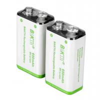 Buy cheap NiMH Rechargeable Battery 9V 650MAH from wholesalers