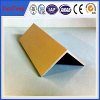 Buy cheap High Quality decorative aluminum extruded angle profile 6063 t5 made in china product