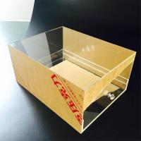 Buy cheap new fashion design custom plastic shoe boxes from wholesalers