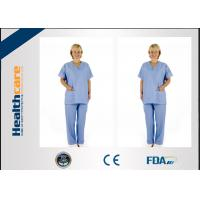Buy cheap Disposable Operating Theatre Scrubs For Hospital / Laboratory Anti - Bacteria from wholesalers
