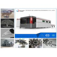 Aluminum Plate Copper Brass Laser Sheet Metal Cutter Machine With Full Cover