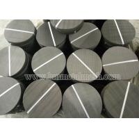 Buy cheap Mild Steel Mesh Screen Filter Dia 250mm For Extrusion Machine from wholesalers