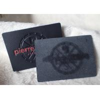 Buy cheap Classic Durable Embossed Leather Patches , Fake / Genuine Leather Label from wholesalers