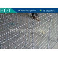 Buy cheap Hot Dip Galvanized Welded Gabion Wire Mesh Gabion Baskets For Sale from wholesalers