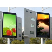 Buy cheap P3.33 SMD1921 6500CD Light Pole LED Sign For Advertising from wholesalers