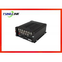 Buy cheap GPS Hard Disk Recording Playback DVR Support OSD Menu 4G Vehicle 8CH MDVR product