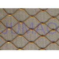 Buy cheap Flex Architectural Metal Screen , Customized Architectural Wire Mesh Panels product