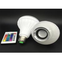 Buy cheap Bright Bluetooth Music Light Bulb , Compact Remote Control Music Playing Light Bulbs from wholesalers