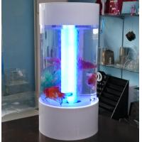 Buy cheap Fishion polishing acrylic fish tank removable with led light product