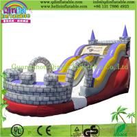 Buy cheap Guangzhou QinDa Bouncy Castle Inflatable, Inflatable Slide with CE from wholesalers