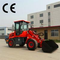 Buy cheap small articulating loader ,telescopic wheel loader with Snow bucket product