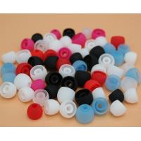 Buy cheap Pure color cheap silicone earphone cover headset silicon cap from wholesalers