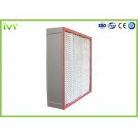 Buy cheap High Temp Resistance HEPA Air Filter Sturdy Construction For Clean Room from wholesalers