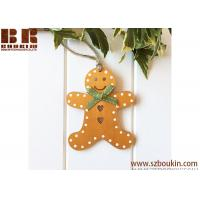 Buy cheap 2018 new design Christmas tree hanging wooden shape deer ornament for home decoration from wholesalers
