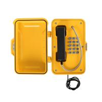 Buy cheap Industrial Telephone with Keypad, VoIP Weatherproof Telephone Manufacturer from wholesalers