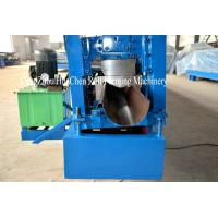 Buy cheap Steel Rain Gutter Cold Aluminum Metal Roofing Sheet Roll Forming Machine Iso from wholesalers