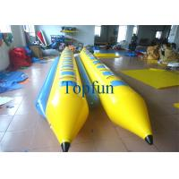 Buy cheap Double Line Inflatable Banana Boat for 7 Persons / Inflatable Banana Drafting Boats from wholesalers